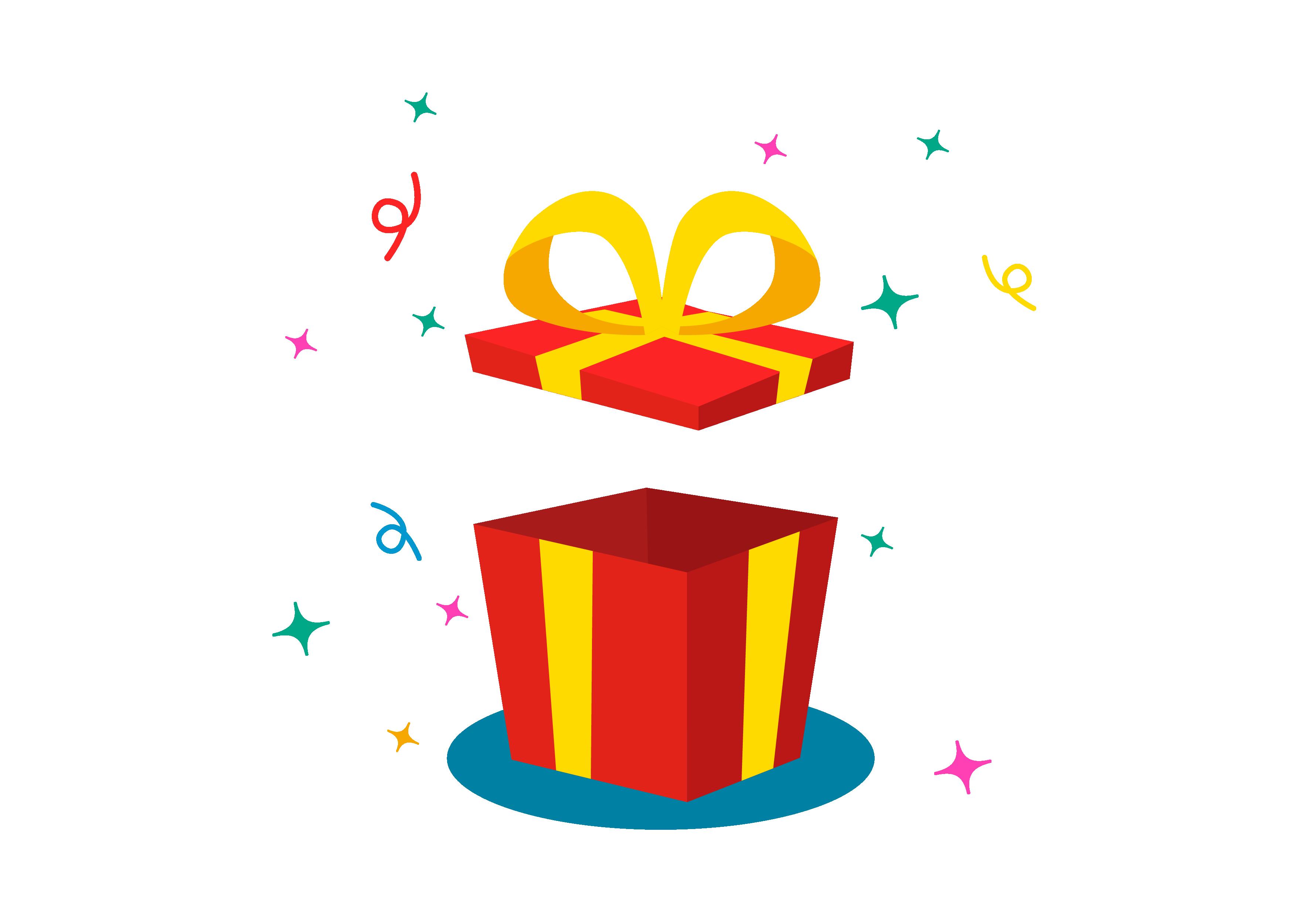 包图网_17959365礼盒卡通简约丝带礼物节日通用元素.png